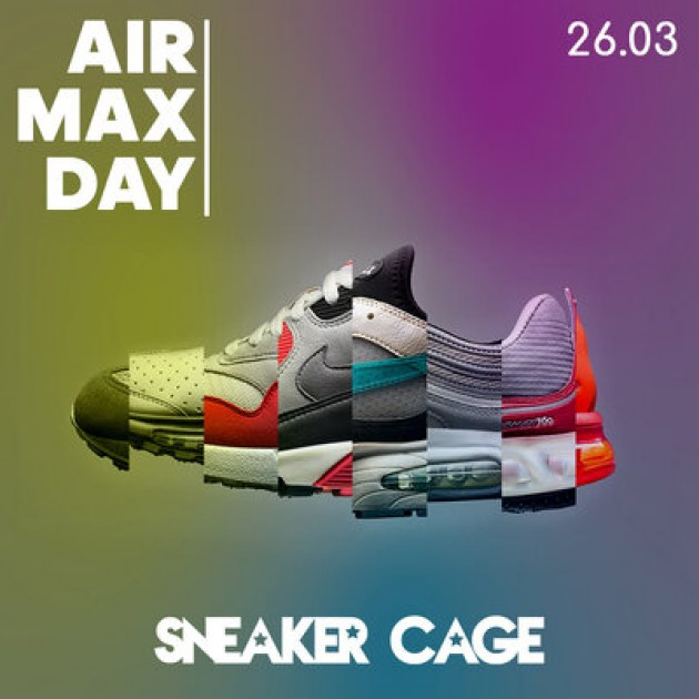 SNEAKER CAGE CELEBRATES AIR MAX DAY 2021!