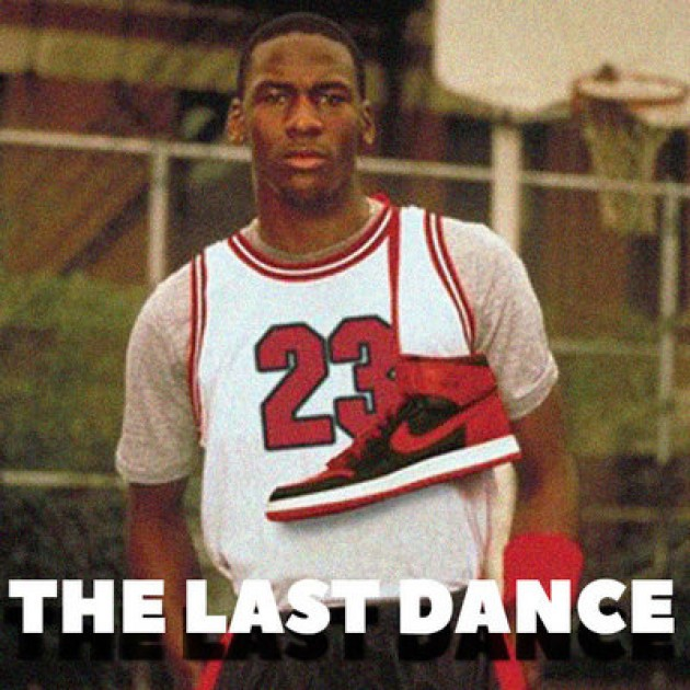 THE LAST DANCE - JORDAN BANNED RED