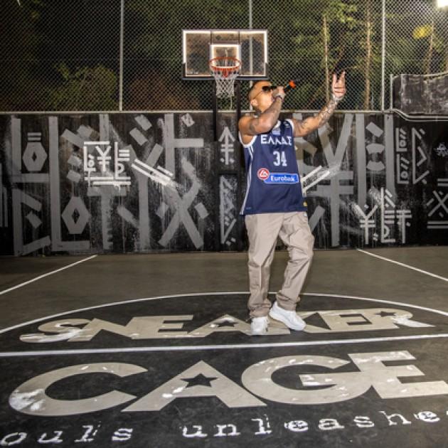 Ο YUNG LIGHT με MVP παλμό στο Sneaker CAGE @ AKANTHUS
