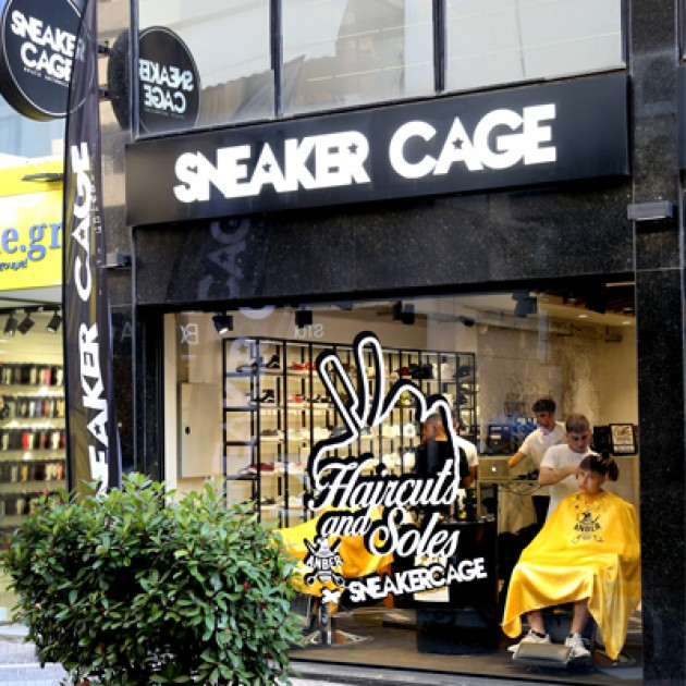 HAIRCUTS & SOLES Vol.2 EVENT @ Sneaker CAGE, Χαλάνδρι