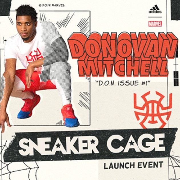 Donovan Mitchell Issue #1 Launch Event | Sneaker Cage x adidas