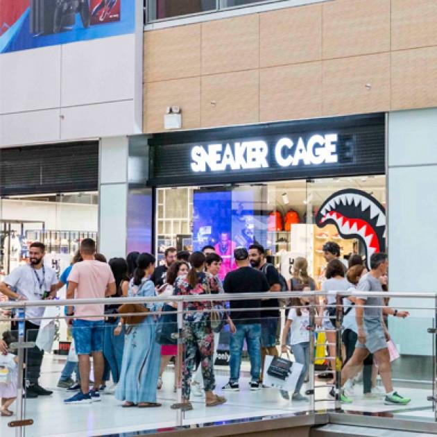 Το Sneaker CAGE & το Sake Tattoo Crew υποδέχθηκαν πλήθος κόσμου στο event στο The Mall Athens!