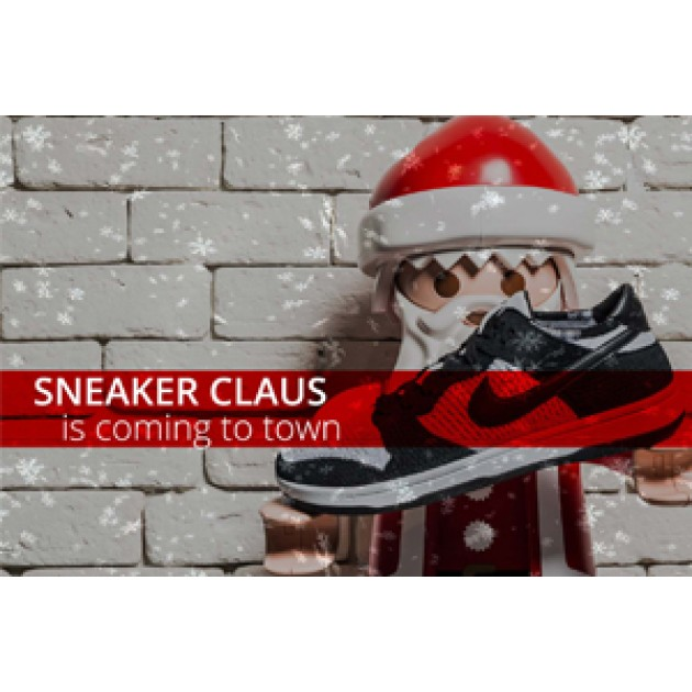 ΤΟ ΠΡΩΤΟ PARTY στο Sneaker Cage έχει άρωμα Χριστουγέννων