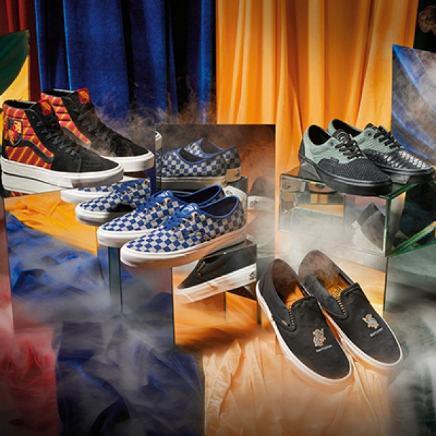 The Vans x Harry Potter collection just caged!