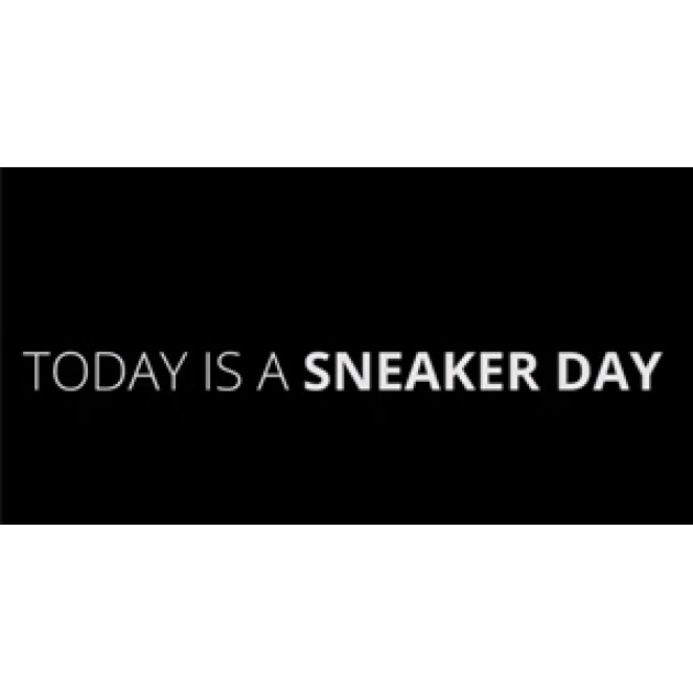 Today is a Sneaker Day!
