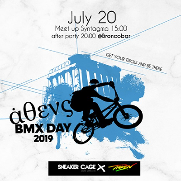 3rd TakenBmx Cruise 2019 supported by Sneaker Cage