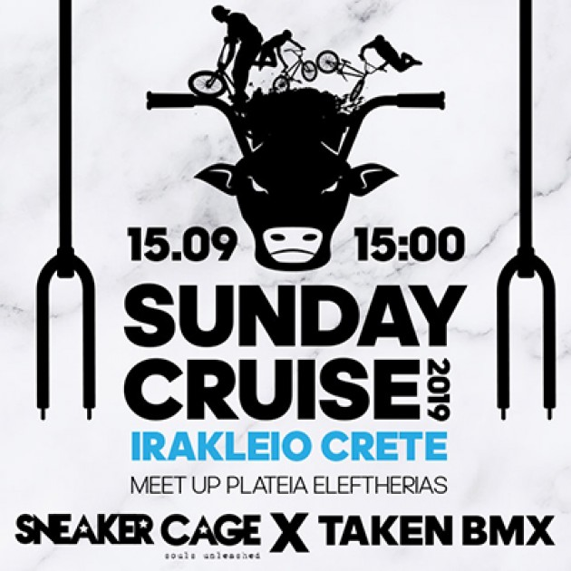 4th TakenBmx Cruise 2019 supported by Sneaker Cage