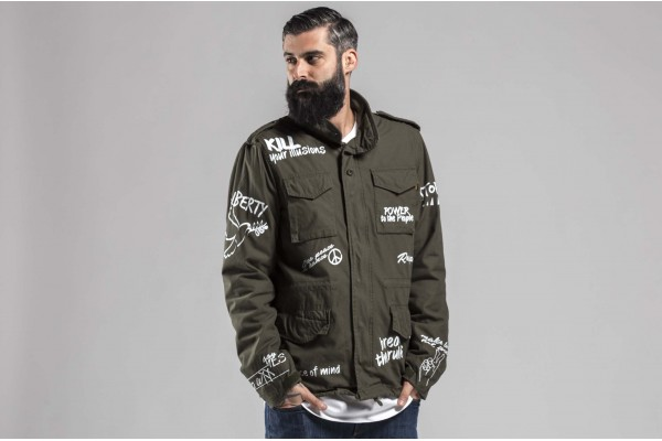 ALPHA INDUSTRIES M-65 FREEDOM 178116-11 Κhaki