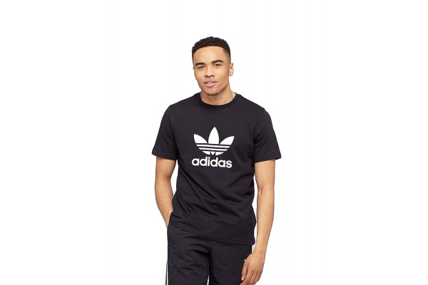 adidas Originals adicolor TREFOIL T-SHIRT CW0709 Μαύρο
