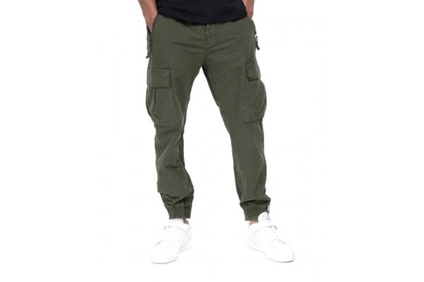 ALPHA INDUSTRIES RIPSTOP JOGGER 116201-142 OLIVE