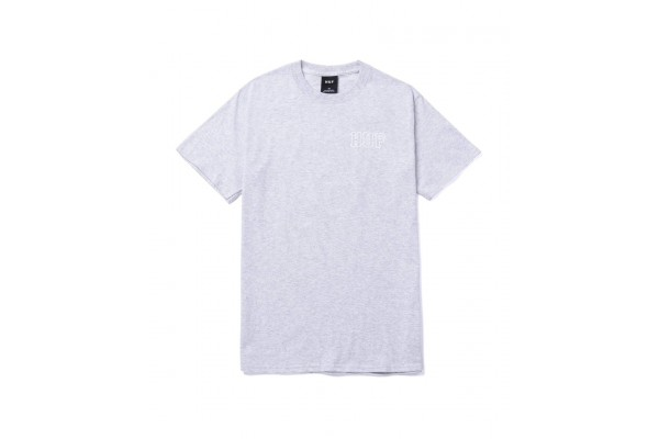 HUF BARB WIRE CLASSIC H S/S TEE TS01500-ASH Grey