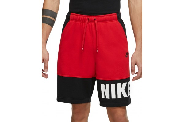 NIKE M NSW SPE+FT SHORT HBR DD4722-657 Red