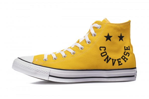 Converse SMILEY CHUCK TAYLOR ALL STAR 167070C Κίτρινο