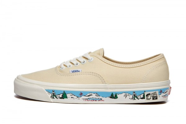 VANS ANAHEIM FACTORY AUTHENTIC 44 DX VA54F241N-41N Εκρού