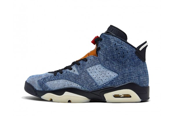 JORDAN AIR 6 RETRO CT5350-401 Μπλε