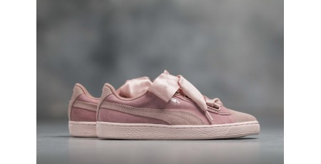 PUMA SUEDE HEART PEBBLE Wn's 365210-01 Pink