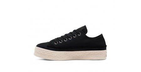 CONVERSE CHUCK TAYLOR ALL STAR TRAIL TO COVE ESPADRILLE LOW TOP 567685C Μαύρο