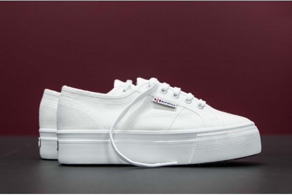 SUPERGA 2790ACOTW LINEA UP AND DOWN E45002 S0001L0-901 White