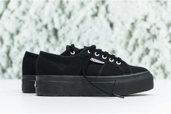 SUPERGA 2790ACOTW LINEA UP AND DOWN E45002 S0001L0-996 Black