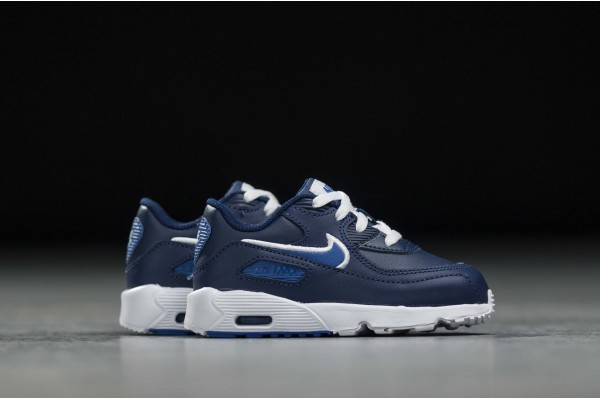 NIKE AIR MAX 90 LEATHER TD 833416-409 Μπλε