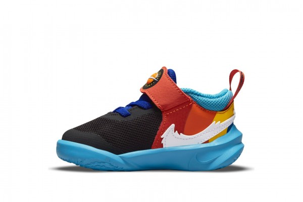 NIKE TEAM HUSTLE D 10 SE x SPACE JAM: A NEW LEGACY DH8054-001 Colorful