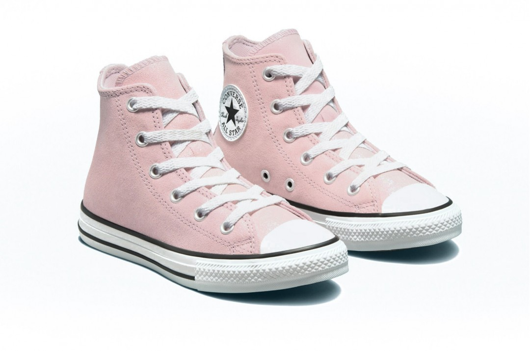 CONVERSE CHUCK TAYLOR ALL STAR IRIDESCENT LEATHER 671472C Pink