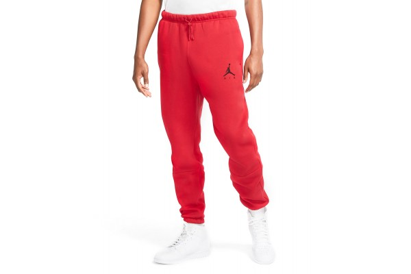 JORDAN M J JUMPMAN AIR FLEECE PANT CK6694-687 Κόκκινο