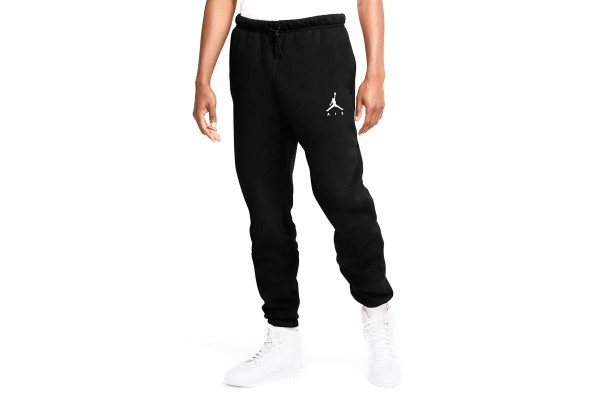 JORDAN M J JUMPMAN AIR FLEECE PANT CK6694-010 Black