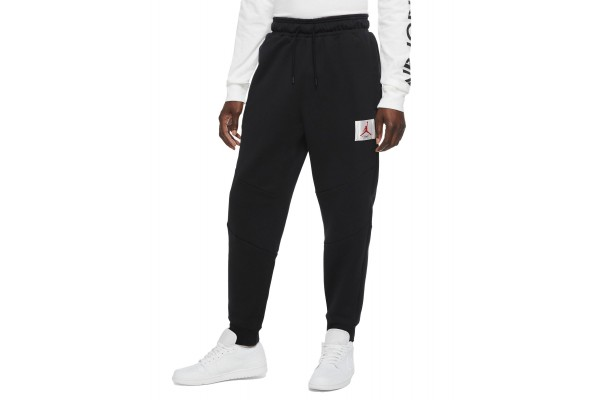 JORDAN FLIGHT MEN'S FLEECE PANTS CV6148-010 Black