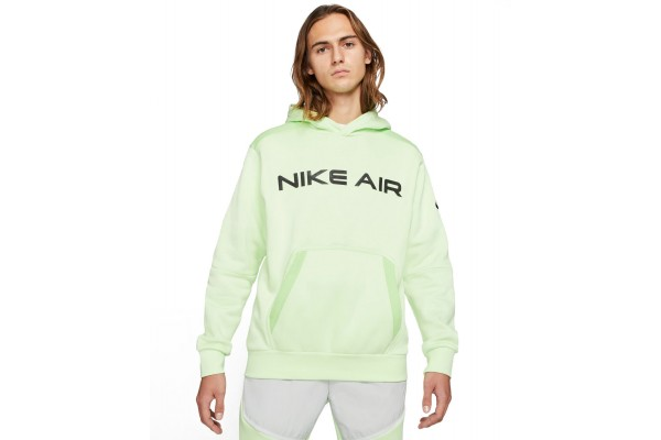 NIKE AIR PULLOVER FLEECE MEN'S HOODIE DA0212-383 Λαχανί