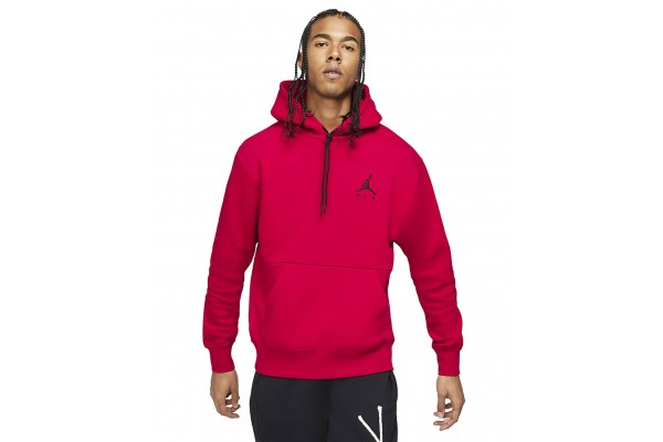 JORDAN M J JUMPMAN AIR FLEECE PO CK6684-687 Red
