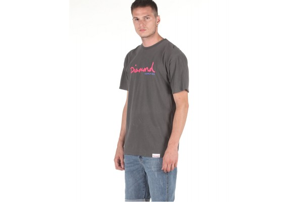 DIAMOND SUPPLY OG SCRIPT OVERDYED DIAA20DMPA020-BLACK Black