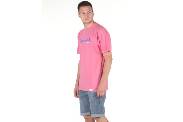 DIAMOND SUPPLY OG SCRIPT OVERDYED DIAA20DMPA020-PINK Pink