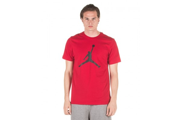 JORDAN M J JUMPMAN SS CREW CJ0921-687 Red