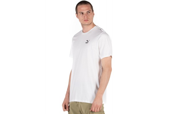PUMA TAILORED FOR SPORT GRAPHIC MEN'S TEE 597167-52 Λευκό