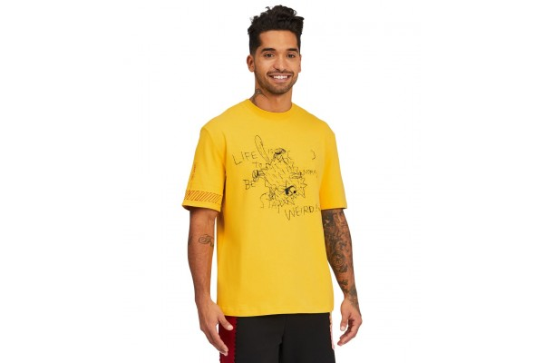 PUMA X MICHAEL LAU TOO SHORT GRAPHIC TEE 530361-79 Κίτρινο