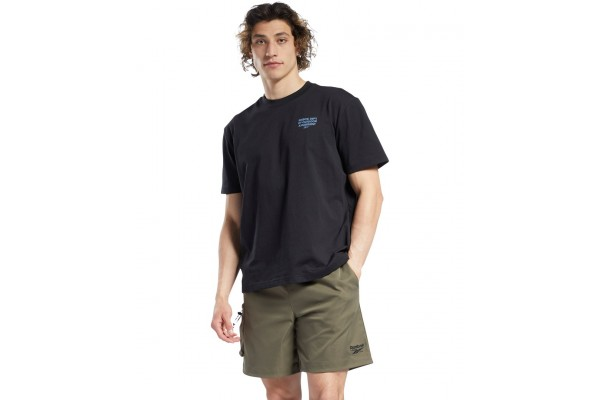 Reebok Classics CL CAMPING GRAPHIC TEE GS4193 Μαύρο