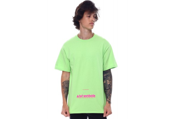 HUF TAKING CONTROL S/S TEE TS01178-BIOLM Λαχανί
