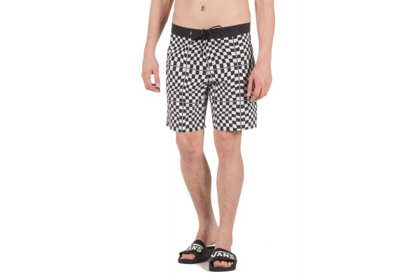 VANS MN MIXED BOARDSHORT VA3W45UVD-UVD White-Black