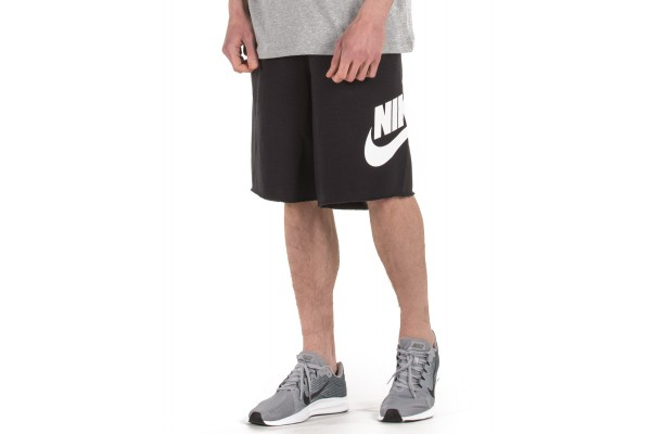 NIKE M NSW HE SHORT FT ALUMNI AR2375-010 Μαύρο