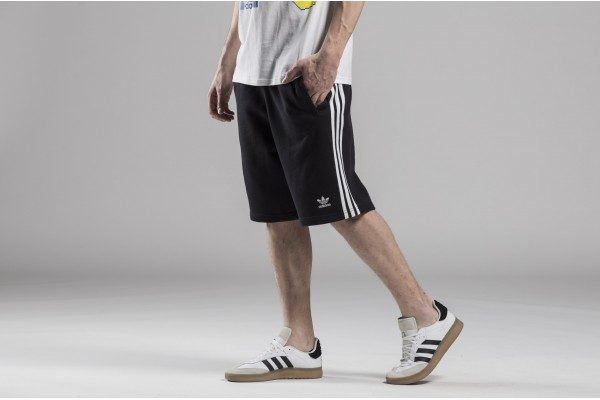adidas Originals 3-STRIPE SHORT DH5798 Μαύρο