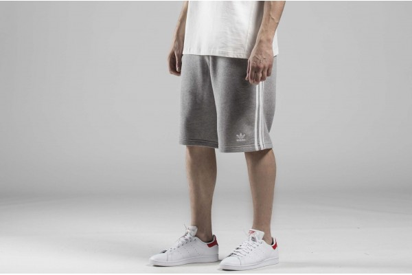 adidas Originals 3-STRIPE SHORT DH5803 Γκρί