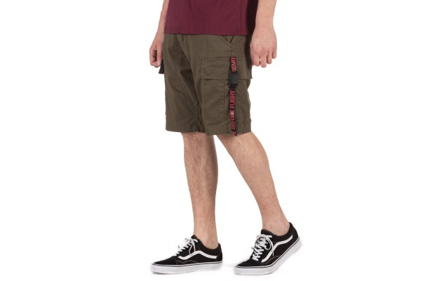 ALPHA INDUSTRIES RBF CLIP SHORT 126204-142 OLIVE