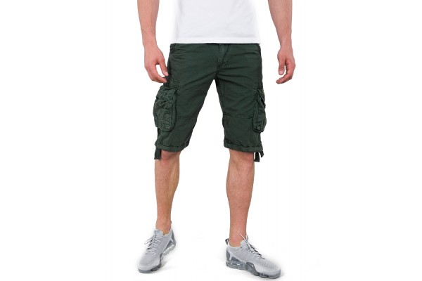 ALPHA INDUSTRIES JET SHORT 191200-353 Πετρόλ