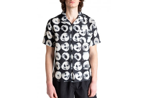 STUSSY HAND DRAWN DOT SHIRT 1110158-BLACK Μαύρο