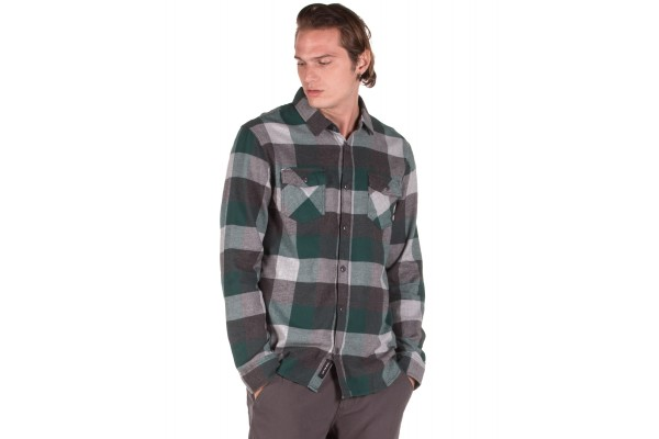 VANS MN BOX FLANNEL VJOGTMS-TMS Πράσινο