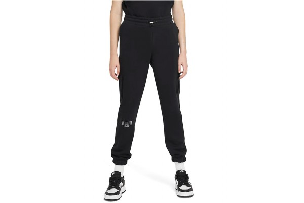 NIKE SPORTSWEAR SWOOSH WOMEN'S FRENCH TERRY TROUSERS CZ8905-010 Μαύρο
