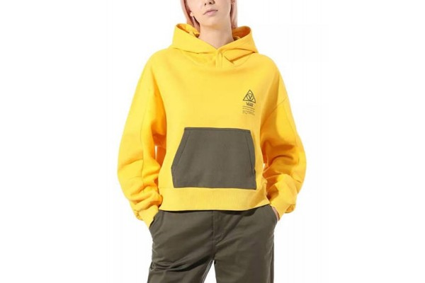 VANS WM 66 SUPPLY HOODIE VA4SD285W-85W Κίτρινο