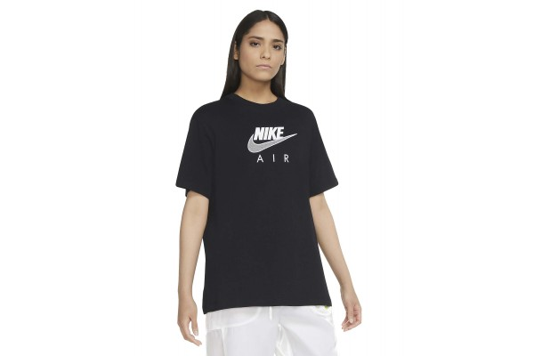 NIKE AIR WOMEN'S BOYFRIEND TOP CZ8614-010 Μαύρο