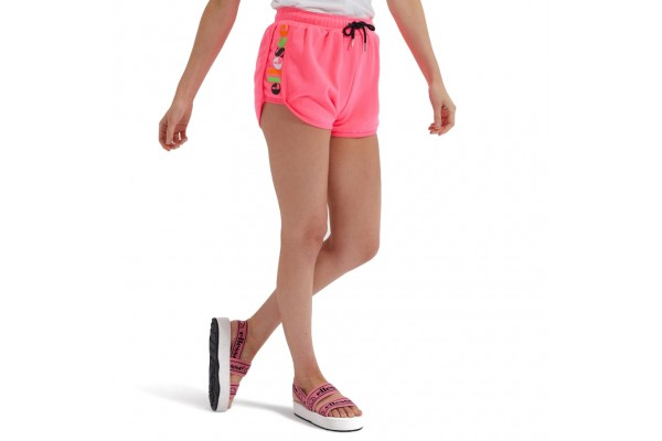 ELLESSE MALLO FLEECE SHORT SGF09234-NEON PINK Φούξια